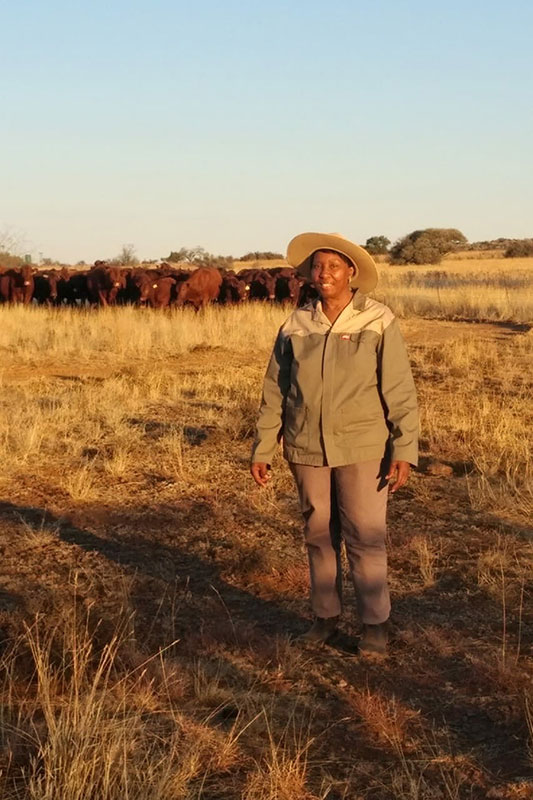 SERNICK EMERGING FARMER PROGRAMME PARTICIPANT RECEIVES THE 2018 FREE STATE FEMALE ENTREPRENEUR AWARD